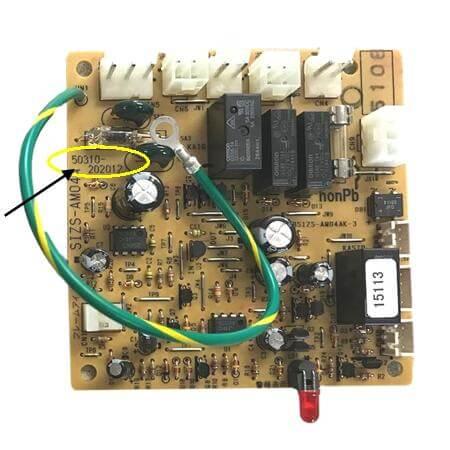 DS-B-17A – Burner Control Circuit Board