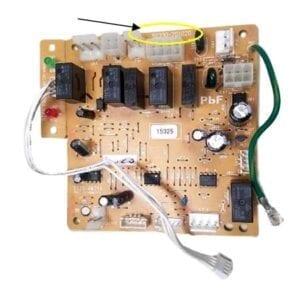 KSL-B-25E MPX-2-21 - Burner Control Circuit Board