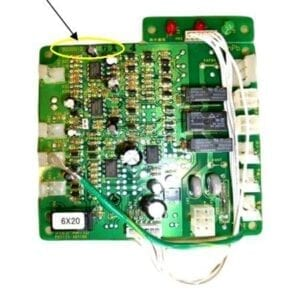 KSL-B-25C - Burner Control Circuit Board
