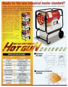 Hotgun Brochure